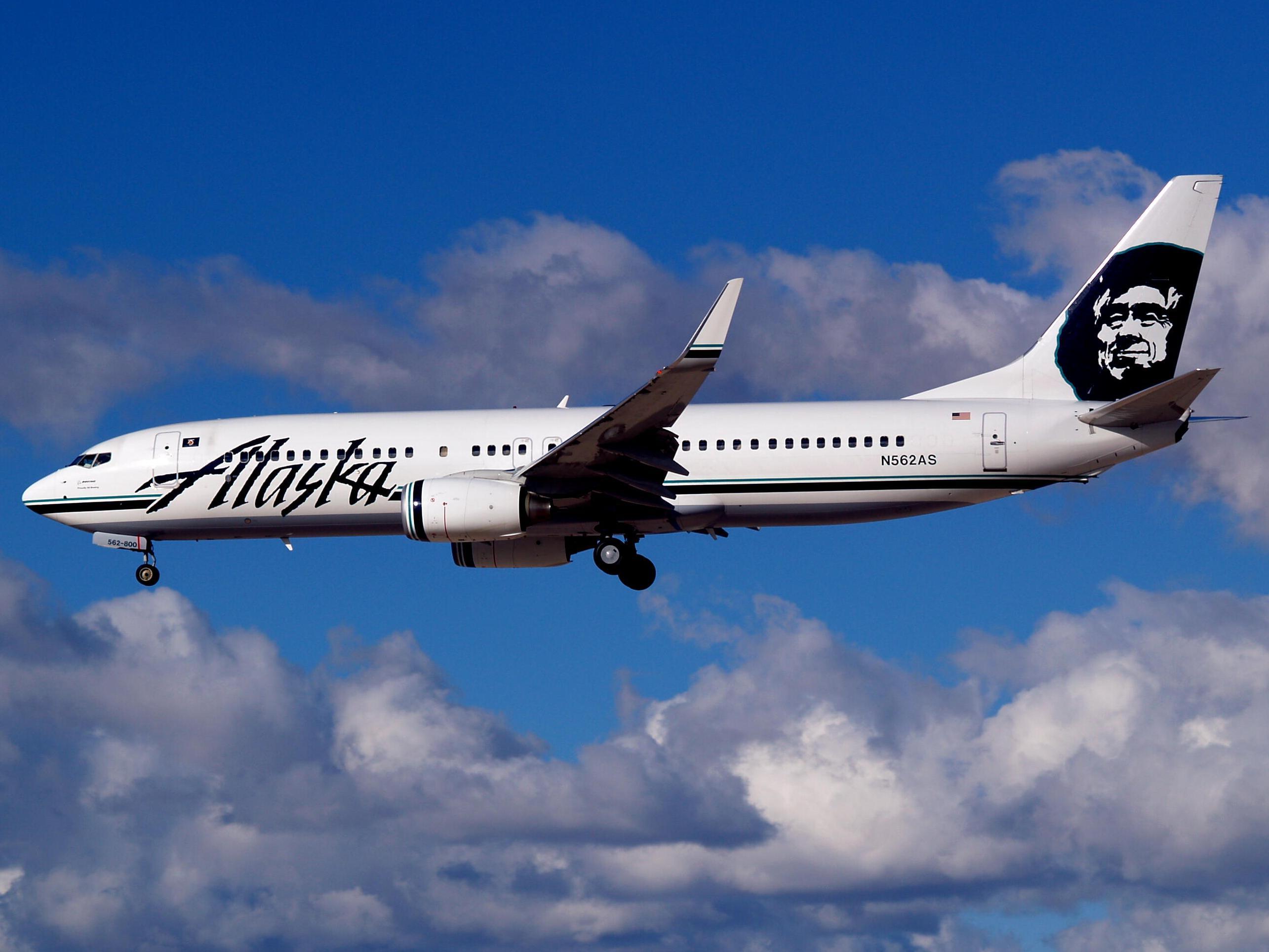 avión de air alaska