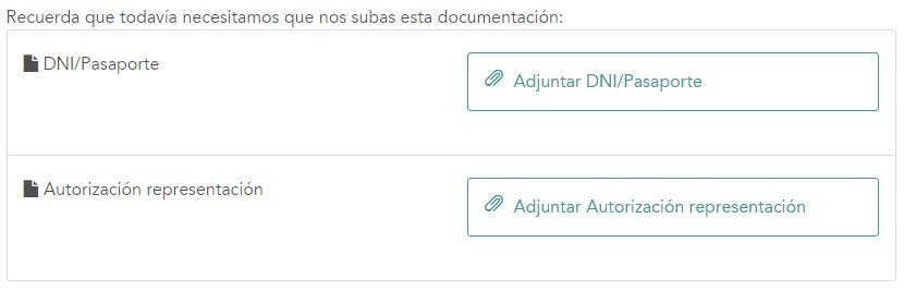 C mo env o la documentaci n a for Documentacion para reclamar clausula suelo